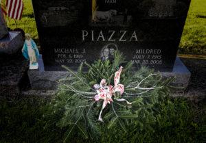 Christmas Grave Blanket